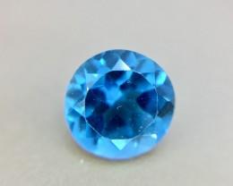 1.65 Crt Natural Blue Topaz Faceted Gemstone (925)