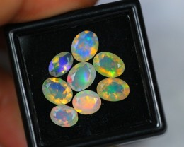 3.20Ct Natural Ethiopian Welo Faceted Opal Lot V267