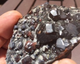 Double sided amazing garnet specimen PPP 1884