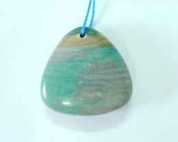 Special Offer,27.5ct Natural Wave Jasper Small Size Necklace Pendant Bead(1