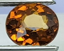 1.08cts, Mali Garnet,  Untreated, Open Bright Color