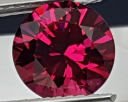 2.32cts Master Cut Color Shift Rhodolite, Clean,  Untreated, calibrated sto
