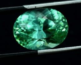No Reserve -13.25 ct lush Green Color Spodumene Gemstone