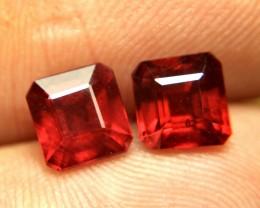 4.26 Tcw. Matched Rubies - Superb