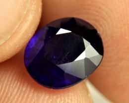 4.49 Carat Midnight Blue Sapphire - Gorgeous