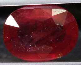 5.28 CTS CERTIFIED RUBY NATURAL FACETED CG-2358