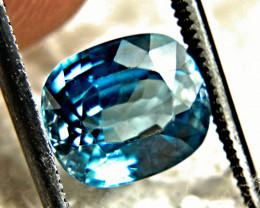 3.74 Carat VVS Swiss Blue Zircon - Gorgeous