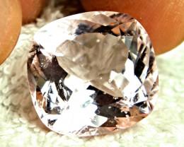 CERTIFIED - 23.25 Carat SI Brazilian Morganite - Superb