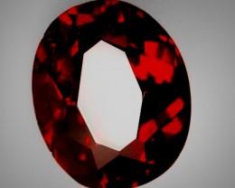 2.21ct Red Mozambique Garnet - NO RESERVE AUCTION! GOOD LUCK!