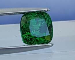 2.01cts, Tsavorite,  Untreated,  Pure  Rich Green,