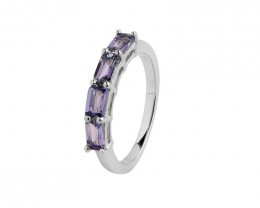 VVS Tanzanite 925 Sterling silver ring #472