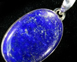 57.55 CTS LAPIS PENDANT-SILVER FACTORY DIRECT [SJ4330]
