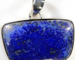 46.00 CTS LAPIS PENDANT-SILVER FACTORY DIRECT [SJ4331]