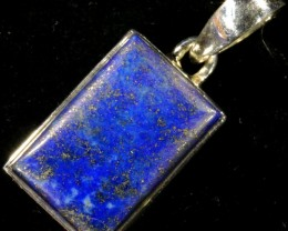 40.00 CTS LAPIS PENDANT-SILVER FACTORY DIRECT [SJ4334]