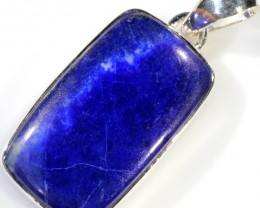 38.65 CTS LAPIS PENDANT-SILVER FACTORY DIRECT [SJ4346]