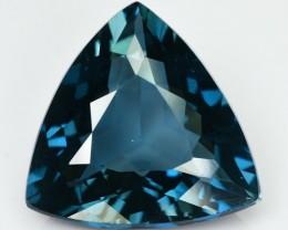 9.53 Cts Natural London Blue Topaz Trillion Brazil