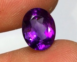 4.15 cts AAA PURPLE AMETHYST - BRAZILIAN GEMSTONE