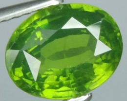 2.85 CTS EXTREME OVAL NATURAL RARE GREEN ZIRCON $650.00