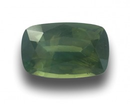 Natural Unheated Green Sapphire|Loose Gemstone| Sri Lanka - New