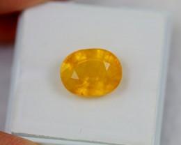 Lot 09 ~ 7.18Ct Natural VS Clarity Ceylon Yellow Color Sapphire