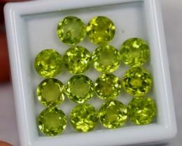 NR Lot 14 ~ 9.58Ct Natural VS Clarity Green Color Himalayan Peridot