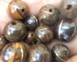 Re Sellers deal 14 pc ironstone beads  PPP 1996