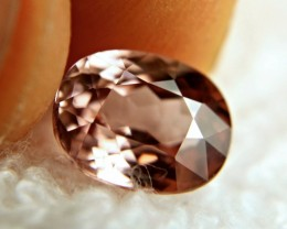 CERTIFIED - 4.78 Carat Pink Southeast Asian Zircon - Gorgeous