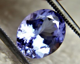 CERTIFIED - 3.32 Carat VVS Bluish Violet Tanzanite - Gorgeous