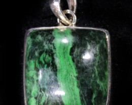 60.75 CTS MAW SIT SIT JADE PENDENTS -SILVER [SJ4350]