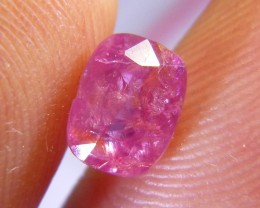 2.24cts Natural Burmese Ruby , Untreated Gemstone