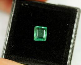 Lot 09 ~ 1.16Ct Natural VS Clarity Green Color Zambian Emerald