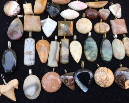 Re Sellers deal  36 jasper pendants  stones  PPP 2013