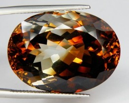Bi COLORED TOPAZ ~ 35.25ct ~ VVS ~ BRAZILIAN BEAUTY