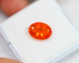 Lot 02 ~ 1.88Ct Natural Orange Mexican Fire Opal