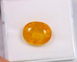Lot 02 ~ 6.31Ct Natural VS Clarity Ceylon Yellow Color Sapphire