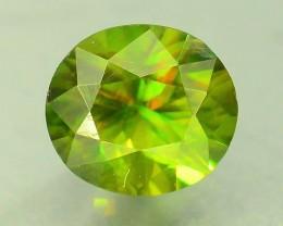 0.55 ct Natural Top Color Sphene Luster Like Diamond