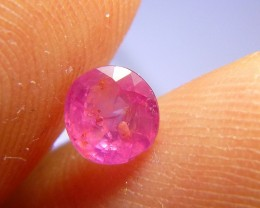 0.85cts Natural Pigeon Blood Burmese Ruby , Untreated Gemstone