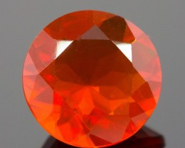 1.62 CT MEXICAN FIRE OPAL!  MASTER CUT!  FLAWLESS!
