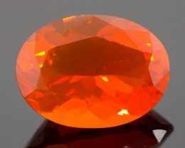 2.18 CT MEXICAN FIRE OPAL!  MASTER CUT!  FLAWLESS!