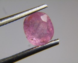 2.55cts Natural Burmese Ruby , Untreated Gemstone