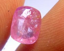 1.67cts Natural Burmese Ruby , Untreated Gemstone