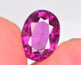 Rare 2.95 Ct Brilliant Color Natural Grape Garnet ~ A.