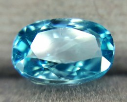 3.0 Crt Natural Blue Zircon Faceted Gemstone (R 116)