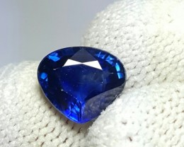 1.82 CTS NATURAL BEAUTIFUL HEART MIXED ROYAL BLUE SAPPHIRE CEYLON