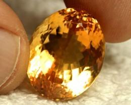 27.62 Carat VVS Brazil Golden Citrine - Superb