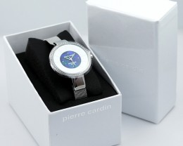 Original Ladies Silver Watch Mosaic Opal