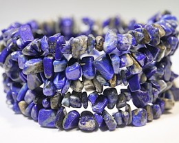 315.35 CT LAPIS LAZULI NATURAL POLISHED BRACELET