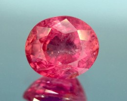 GIL Certified 1.11 Cts Untreated Ruby Awesome Color ~ Mozambique
