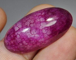 33.45 CT Natural Beautiful Red Dragon Skin Chalcedony Agate