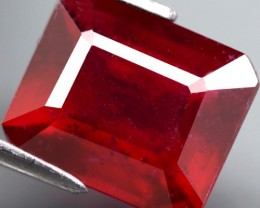 Top Quality Blood Red Ruby  3.73 Cts Mozambique Gem